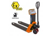 Kentruck WS2000 Atex 2 Weigh Scale Hand Pallet Truck
